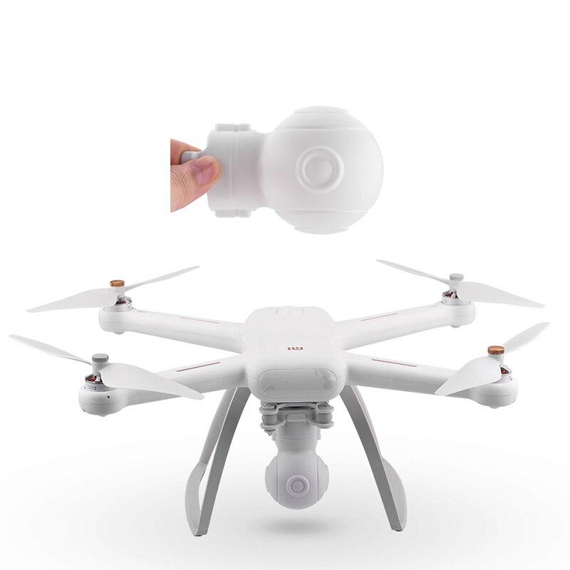 Tampa de lente para drone fimi, capa de plástico à prova de choque para quadricóptero fimi 4k, proteção gimbal guarda para drone, acessórios de câmera, peças sobressalentes