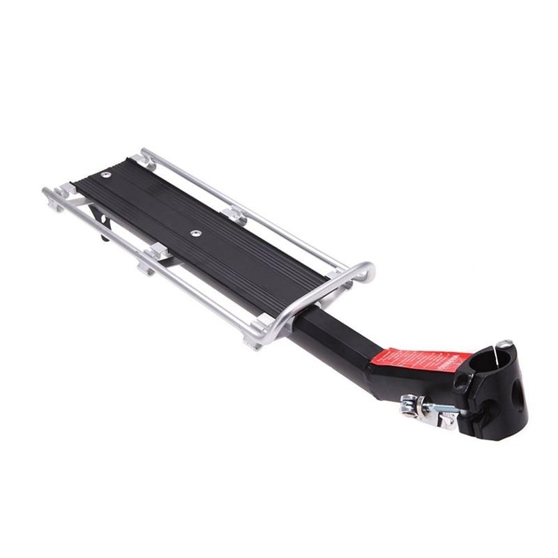 Portabicicletas MTB, poste de asiento, estante trasero, aleación de aluminio, exterior