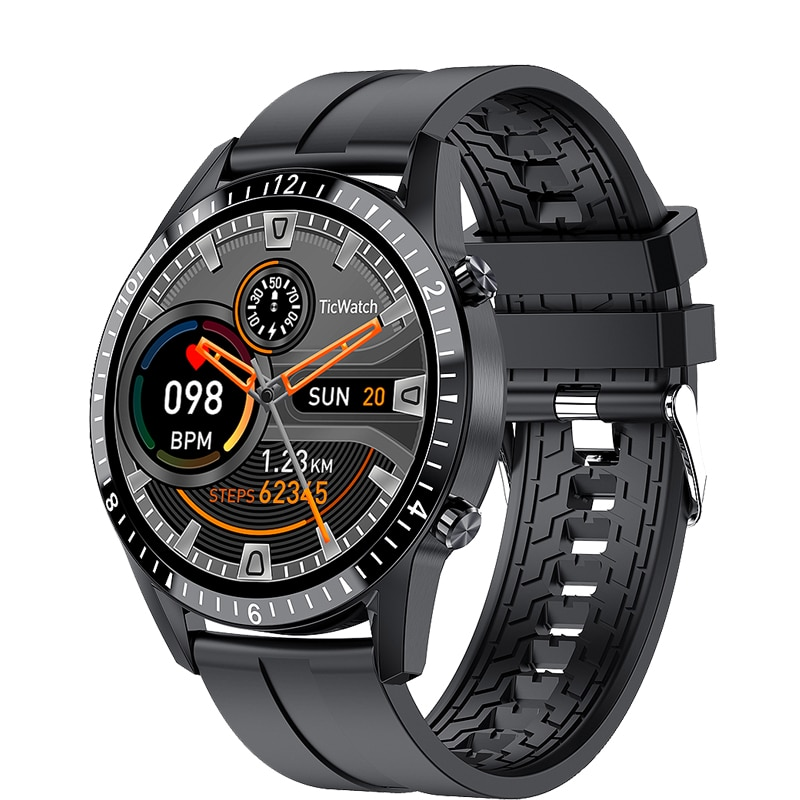 LIGE هاتف ساعة ذكية شاشة تعمل باللمس كامل الرياضة اللياقة البدنية ساعة IP67 مقاوم للماء اتصال بلوتوث للرجال أندرويد ios smartwatch