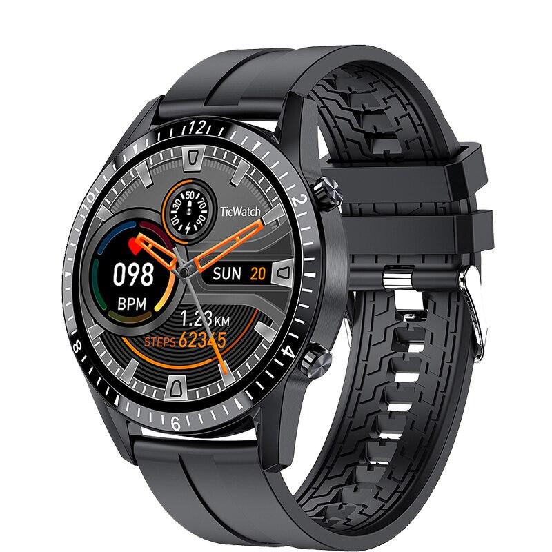 Tela de Toque Relógio de Fitness Bluetooth para Android Ip67 à Prova Lige Relógio Inteligente Telefone Completa Esporte Dip67 Água Conexão Ios Smartver Masculino