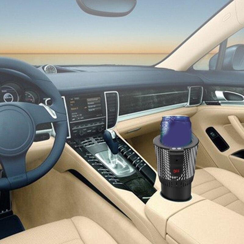 سمارت شاشة ديجيتال سيارة تبريد كأس المنزل مكتب سطح المكتب دفئا برودة القدح M2EE