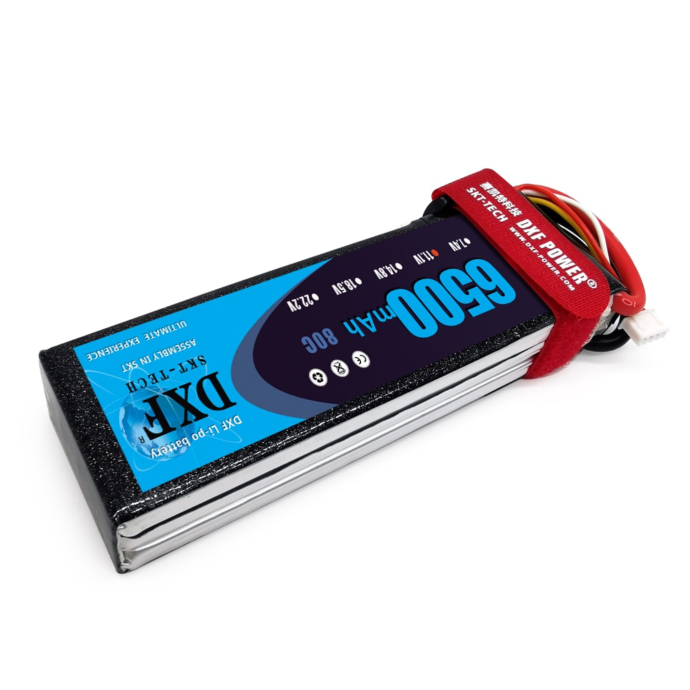 DXF LiPo battery  3S 11.1V 6500mAh  80C RC LiPo Battery For DJI F450 Quadcopter RC Car Boat Truck Helicopter Airplane enlarge