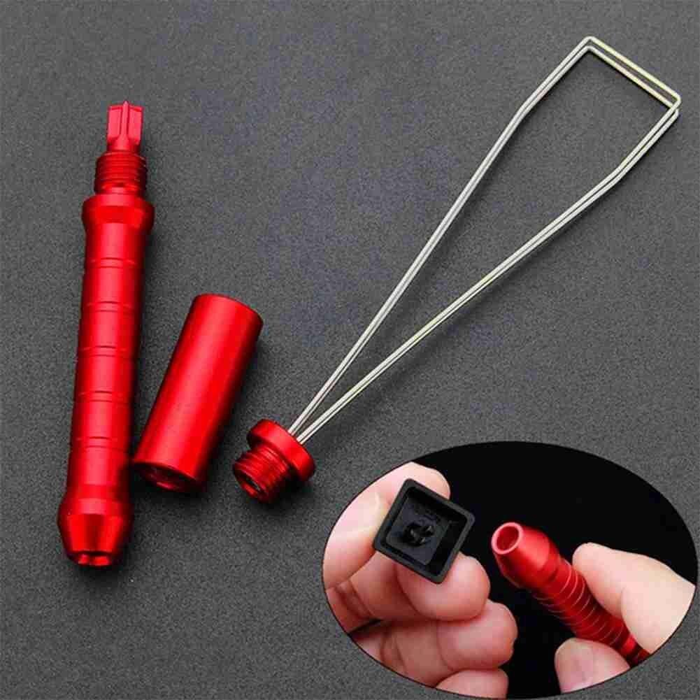 Многофункциональный полезный съемник для клавиатуры, колпачка для клавиатуры, съемник для стальных ключей, съемник для металлических пров...