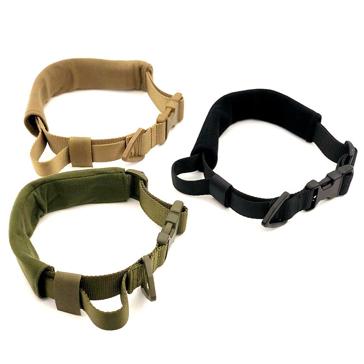 Tactical Military Dog Collar - Nylon Adjustable (16.9