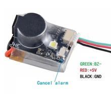 Finder JHE42B 5V Super Laute Summer Tracker 110dB mit LED Summer Alarm Für FPV Racing Drone Flight Controller