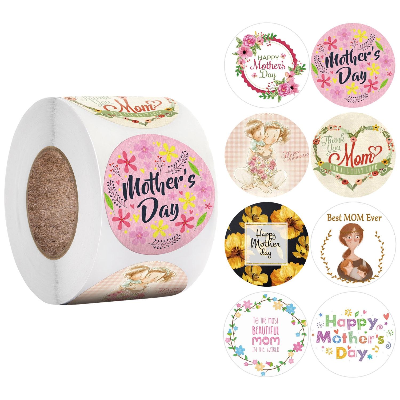 500pcs-adesivo-per-etichette-regali-per-la-festa-della-mamma-felice-kraft-adesivo-a-forma-rotonda-da-1-pollice-disegni-floreali-dolci-per-regali-per-la-mamma-etichette-per-etichette-avvolgenti