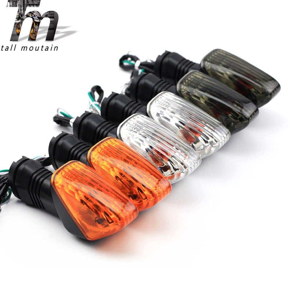Luz indicadora de sinal volta traseira para kawasaki z750 z1000 ZX-6R ZX-10R ZX-10RR ninja 650r 1000 motocicleta blinker lâmpada