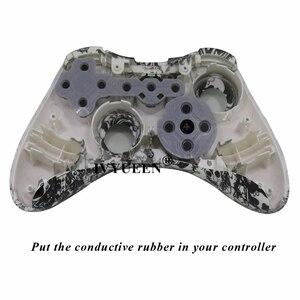 Image 5 - IVYUEEN, 100 комплектов для Microsoft Xbox 360, искусственные резиновые силиконовые контактные накладки, детали для планшета