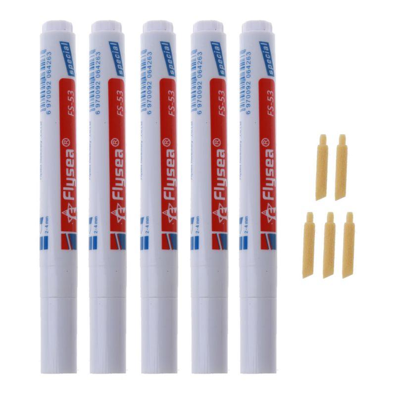4 Uds. Pluma de lechada de azulejos, lechada blanca, renovar el marcador para reparaciones con punta de plumín de repuesto para restaurar el aspecto del lápiz de líneas de lechada de azulejos