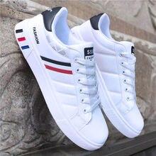 2020 printemps blanc chaussures hommes chaussures hommes chaussures décontractées mode baskets rue Cool homme chaussures Zapatos De Hombre