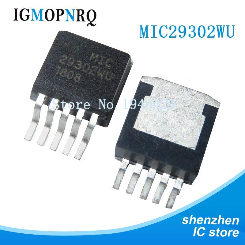 5pcs MIC29302WU TO263 29302WU PARA-263 MIC29302 TO263-5 novo e