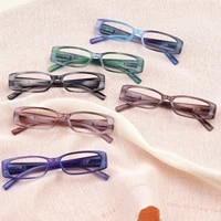 2021 summer new fashion and exquisite reading glasses plastic appearance light and easy carry five colors optional diopter 0600
