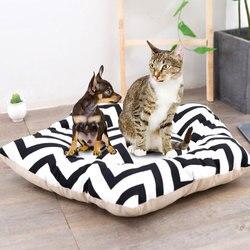 Animais de estimação macio tenda para cães filhote de cachorro gato cama lona casa do animal de estimação teepee ninho gato galpão cão tenda canil com almofada bonito suprimentos para animais de estimação