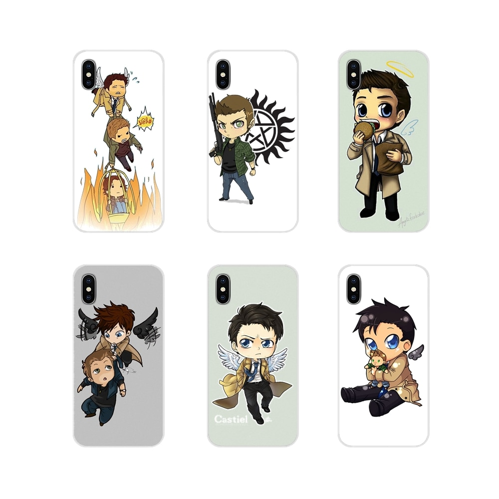 cool Supernatural tv logo Accessories Phone Cases Covers For Xiaomi Redmi Note 3 4 5 6 7 8 Pro Mi Ma