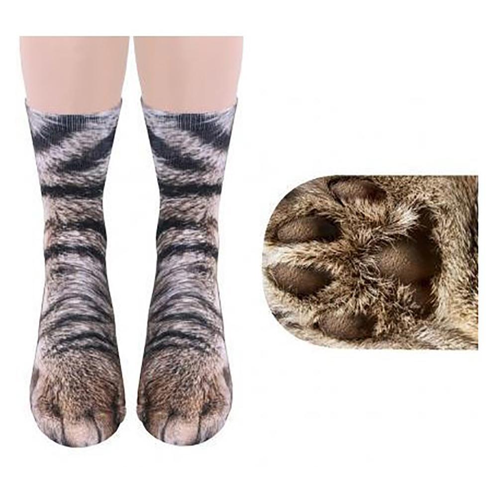 3d impreso animal toe calcetines adultos unisex para adultos animal print calcetines animal calcetines gato jio Calcetines