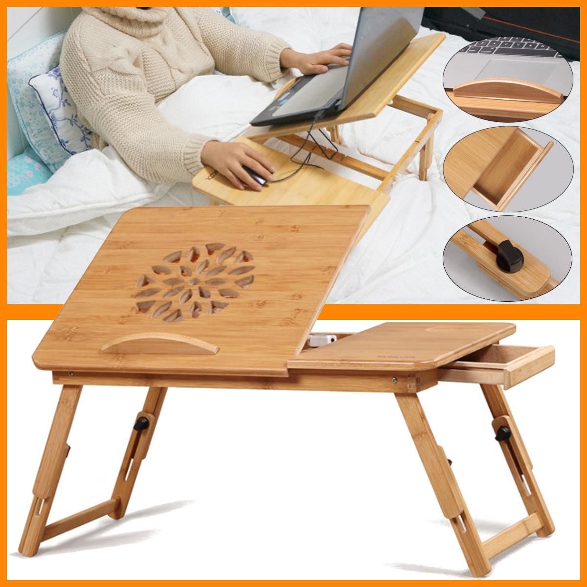 Soporte ajustable para ordenador portátil escritorio Notebook escritorio portátil mesa para cama sofá cama bandeja Picnic mesa de estudio