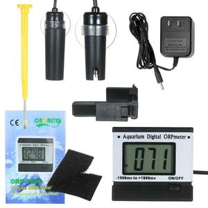 Aquarium Digital ORP Oxidation Reduction Potential Monitor ORP Meter ORP Sensor Water Testing Equipment PH Tester Water Monitor