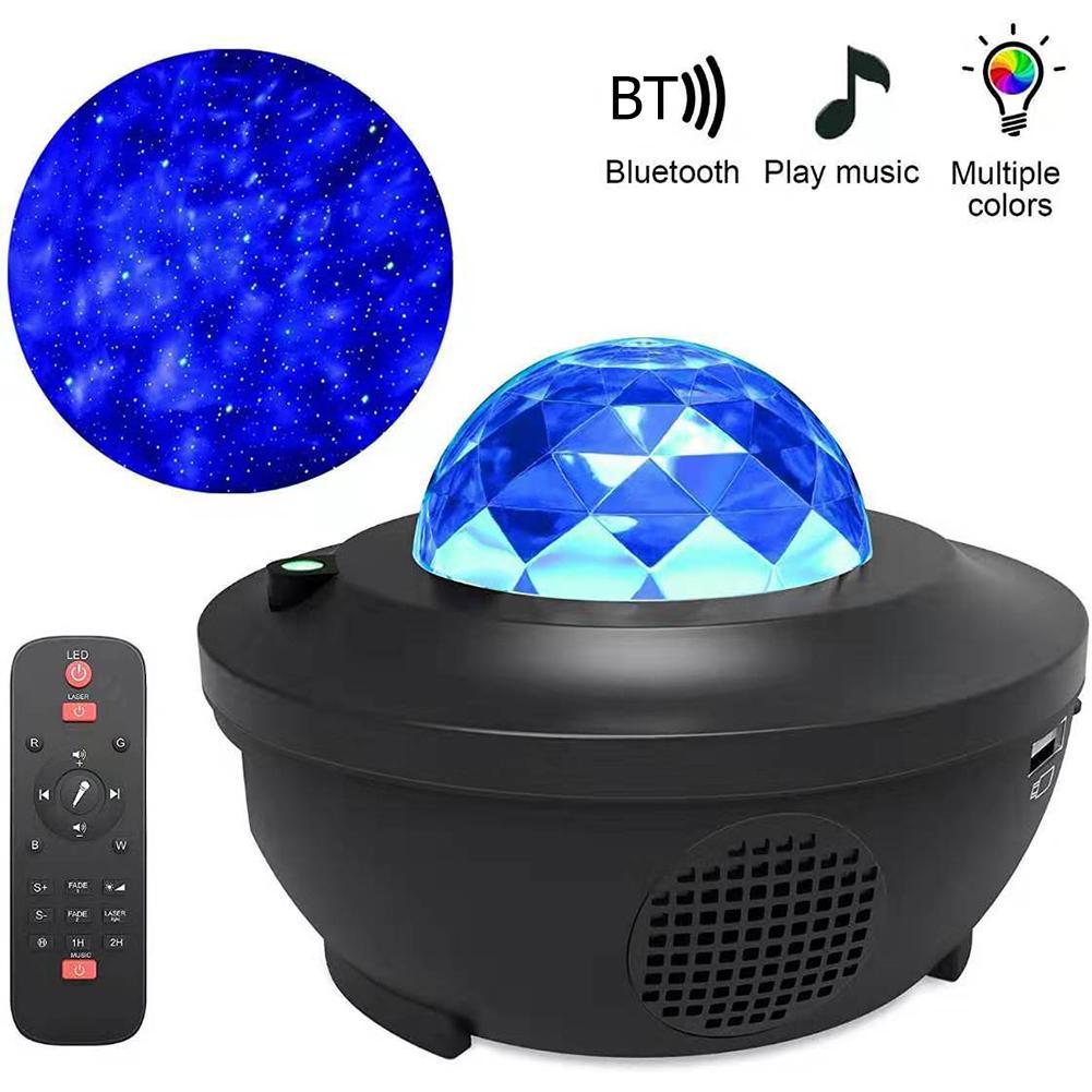 Starry Sky Nachtlicht Projektor Stern/Sky/Galaxy Projektor FÜHRTE Stern Licht Musik Player Kinder der Nacht Licht lampe Geschenk Für Home