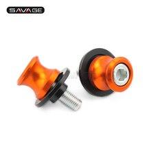 Swingarm Spools Slider For KTM 690 Enduro R Supermoto SMC/DUKE/R, 790 DUKE ADVENTURE ADV Motorcycle Parts Stand Screws M10