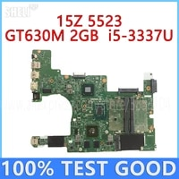 for dell inspiron 15z 5523 laptop motherboard 11307 1 dmb50 with i5 3337u cpu gt630m 2gb gpu cn 0njf5x 0njf5x mainboard