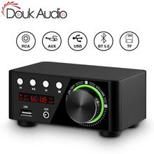 Douk audio Mini TPA3116 усилитель мощности Bluetooth 5,0 приемник стерео домашний автомобильный аудио усилитель USB u-диск музыкальный плеер
