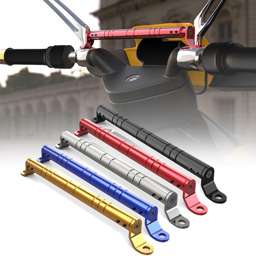 Motorcycle Balance Crossbar 7/8 handlebar crossbar 22mm Handlebar Strengthen Lever CNC mirror balance bar Adjustable