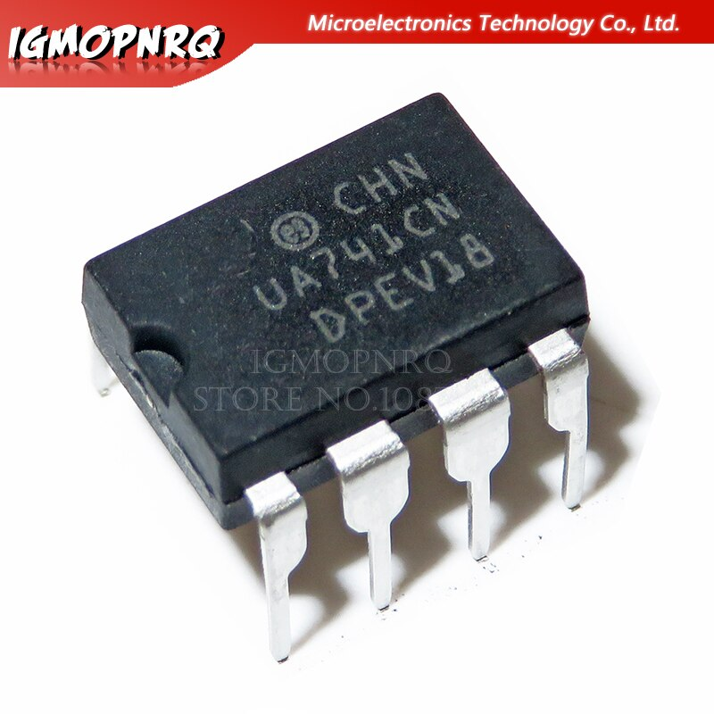 10PCS LM741CN DIP8 LM741 DIP DIP-8 741CN DIP-8 Operational Amplifier LM741C