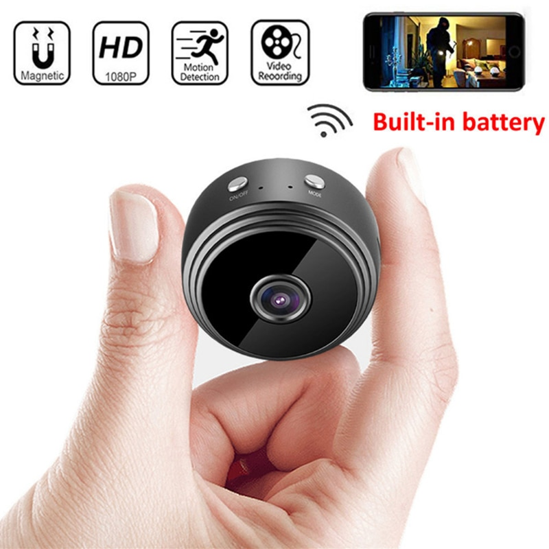 a9 camera wifi home security 1080p camera 4k hd security outdoor sports hd night vision 1080p aerial motion dv A9 WiFi HD 1080P Mini Wireless Camera Home Night Vision Wireless Security-Camera Remote Monitor Aerial Photography Sports Camera