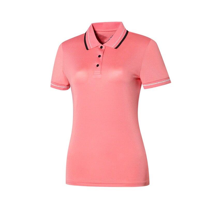 Camiseta de golf para mujer, secado rápido, secado rápido, UPF 50 + UV, barata, 2020