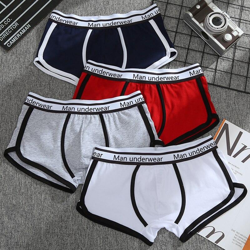 Boxer Shorts Underpants High Quality Cotton Sleep Male Shorts Men's Panties Men Boxer Casual Pants M