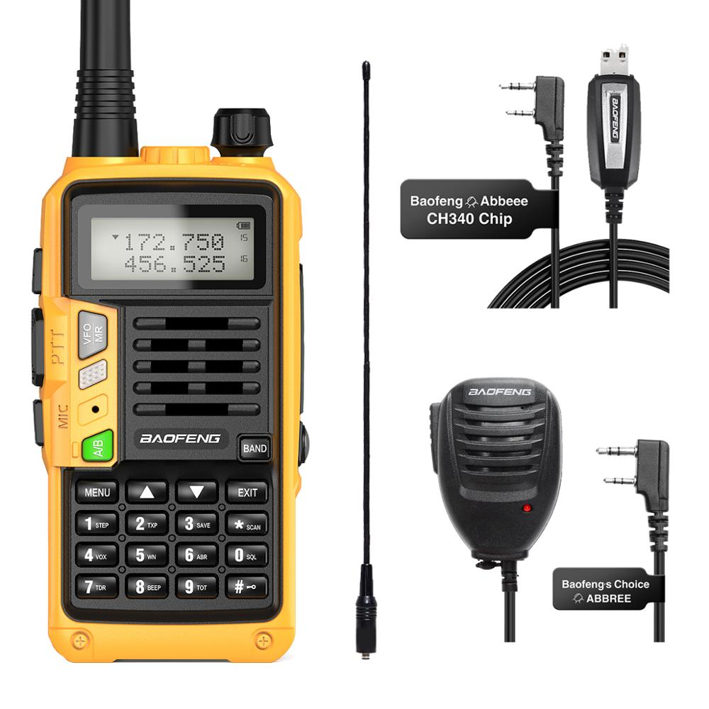 BaoFeng UV-S9 Plus With NA-771 MIC 10W Long Range Portable Powerful Transceiver upgrade With  Walkie Talkie CB Radio