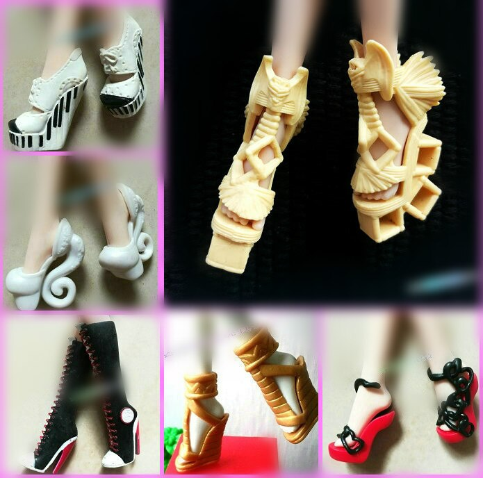 cool shoes for Monster High Monster High School Children High Shoes Boots Shoes