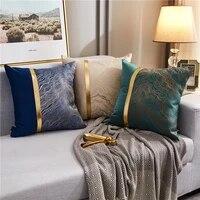 oriental mystical auspicious cloud sating pillow home decor luxury silk embroidered cushion