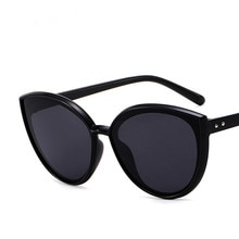 Lunettes de soleil yeux de chat UV400, marque de luxe, rétro, Vintage, pour femmes