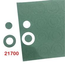 60Pcs 21700 0.15Mm Batterij Isolatie Pakking Gerst Papier Battery Pack Mobiele Isolerende Patch Elektrode Groen Geïsoleerd Pads