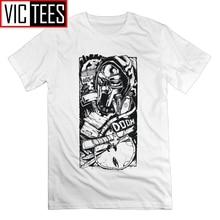 MF Doom jeu grande taille manches courtes T-Shirts T-Shirts mode homme blanc t-shirt 100% coton
