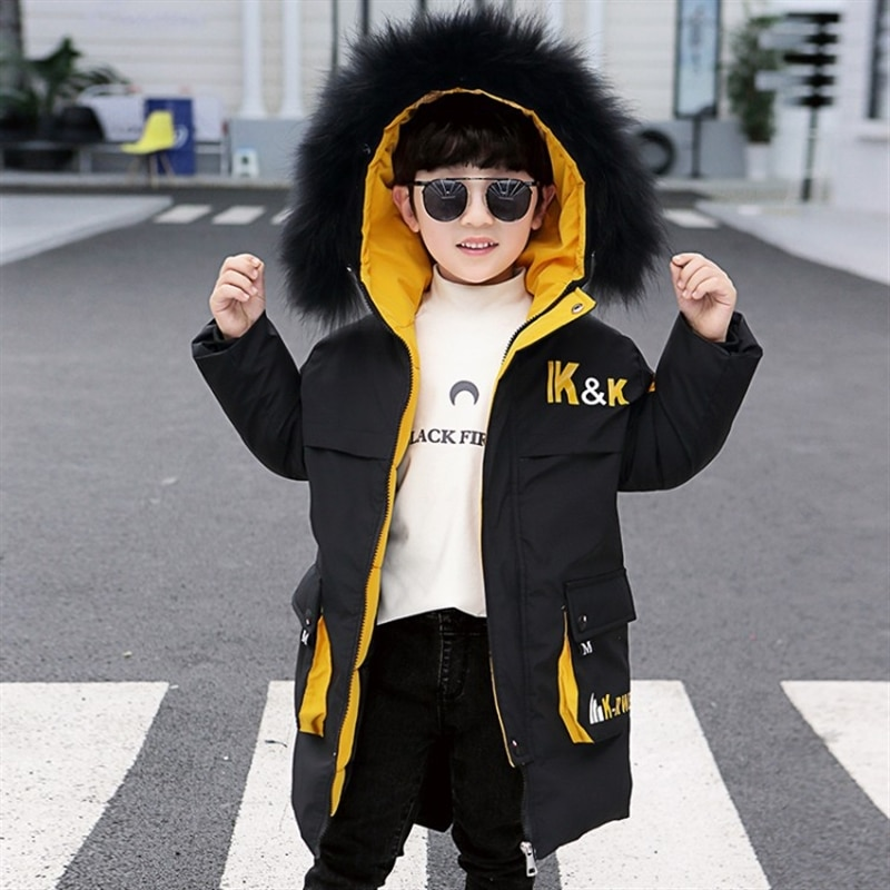 Children's clothing boy's quilted cotton coat winter clothing jacket thickened padded jacket children's cotton clothes enlarge