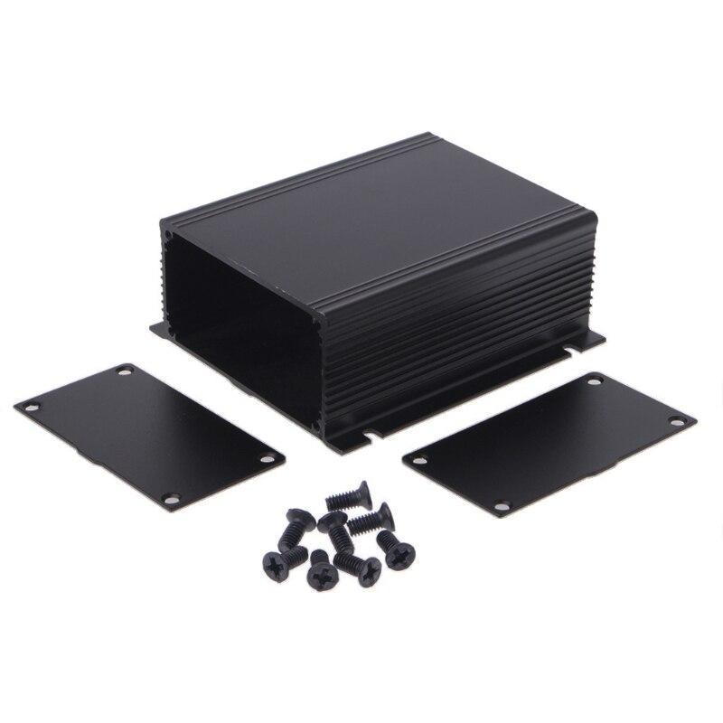 Caja de aluminio para bricolaje, caja de instrumentos PCB para proyecto electrónico 100x88x39mm