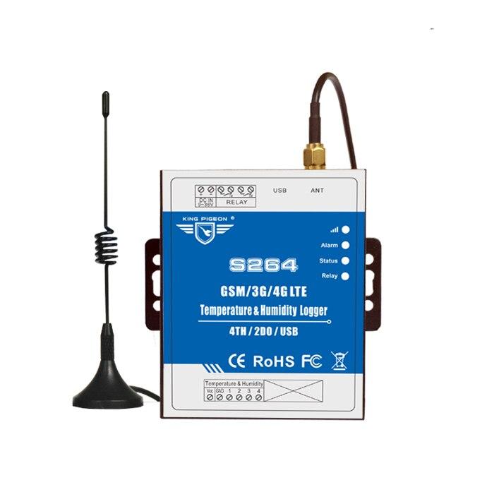 GSM -40-70 درجة الحرارة اللاسلكية الذكية الموقت التبديل IOT RTU 4G وحدة S264-King الحمام