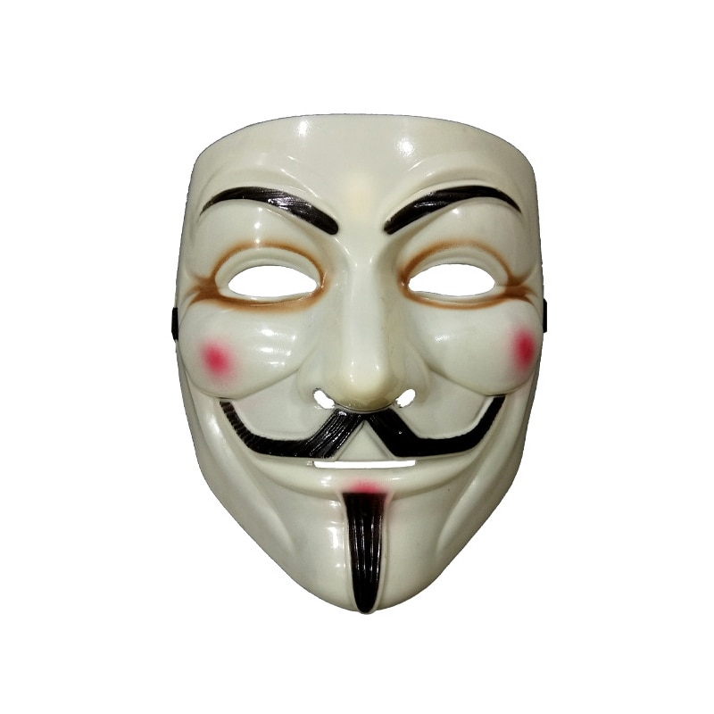 Halloween Mask Cosplay Masks V For Vendetta Movie Anonymous Mask For Adult Kids Film Theme Mask Masquerade Party Costume Masks недорого