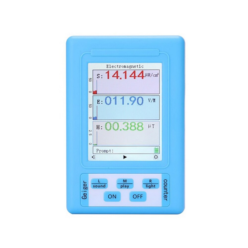 BR-9A Portable Digital Electromagnetic Radiation Detector EMF Meter High Accuracy Professional Radiation Dosimeter Monitor Test ht 20 professional high accuracy digital gauss meter magnetic machine with magnetic field indicator digital gauss meter