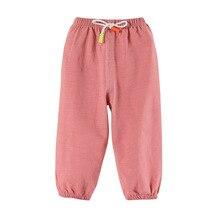 Baby Summer Anti Mosquito Pants New Cotton Linen Children Thin Lantern Pants Kids Cotton Spring Clothing Crawler Loose-Fit Pants