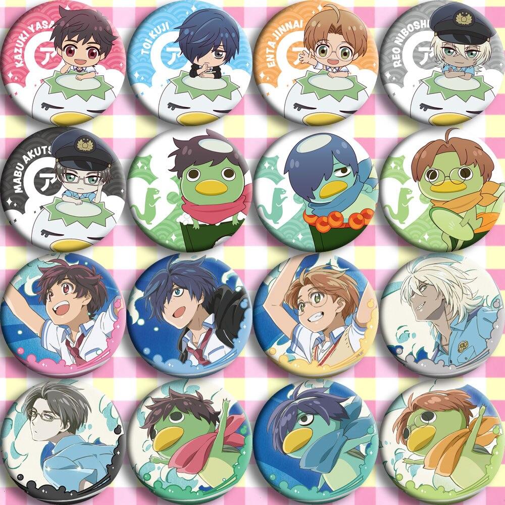 Japón Anime sarazanami plato Sancha insignia de Anime insignia dos yuanes periférico póster para personalizar pinturas colgantes disfraces con insignia