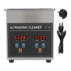 2l ultra sonic cleaner digital temporizador aquecido jóias relógio de aço inoxidável peças barbeador ultra sônico máquina limpeza