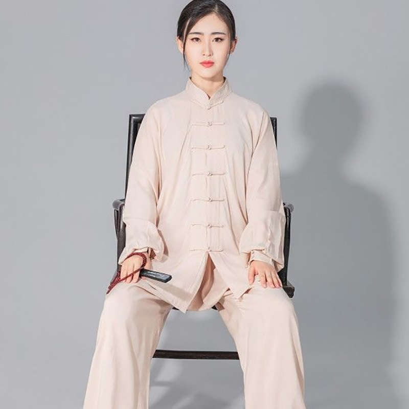 USHINE Лидер продаж Taichi Одноцветный хлопок 6 цветов Высокое качество Wushu одежда для кунг фу детей взрослых боевых искусств WingChun костюм| | | АлиЭкспресс