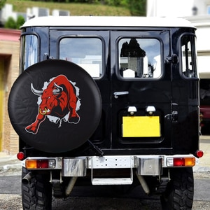 Universal PVC Leather Spare Tire Wheel Cover Case Protector Bag Pouch For Nissan Patrol SAFARI GRX Ford Ecosport Troller