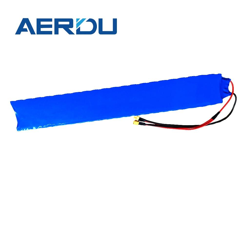 AERDU 36 فولت 7Ah 10s2p المدمج في 15A BMS مع حامل 18650 بطارية أيون الليثيوم حزمة بطاريات الموسعة ل m365 برو سكوتر كهربائي