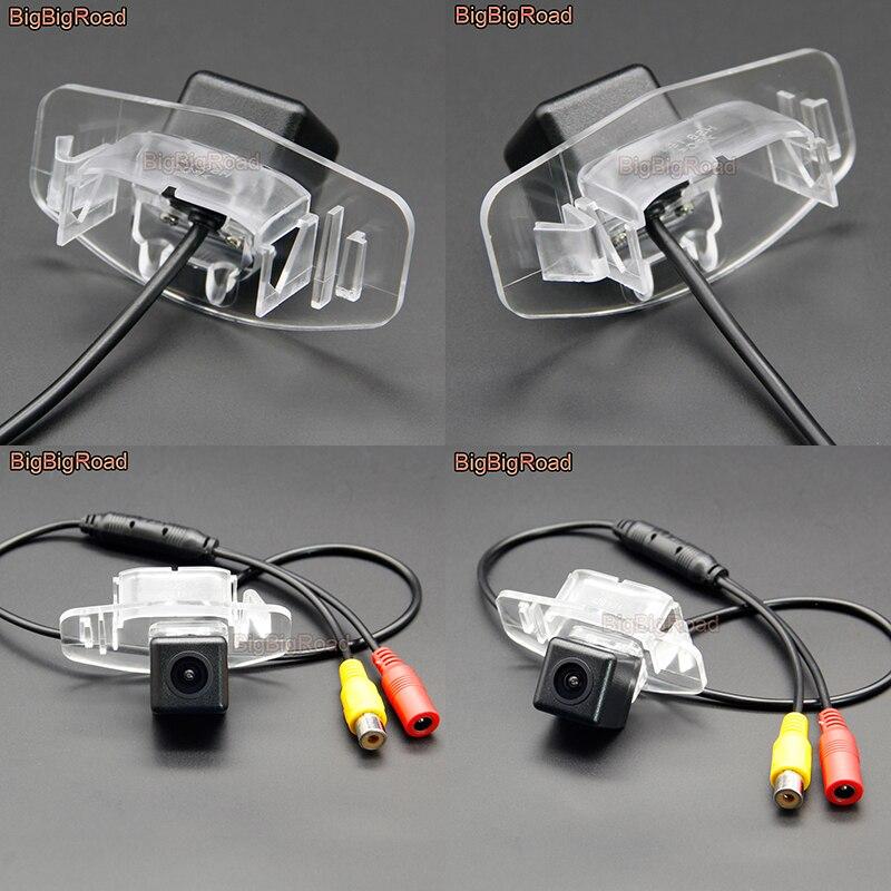 Монитор BigBigRoad HD камера заднего вида CCD для Honda Odyssey Pilot Everus Civic 4D / Civic Europe/городской седан