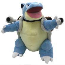 Blastoise tortank cannon tortoise pikachued plush doll japan Anime Cartoon Stuffed doll plush toy po
