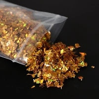 glitter flakes silver gold resin filler laser clay slime sequins for epoxy silicone mold filling nail art making components diy